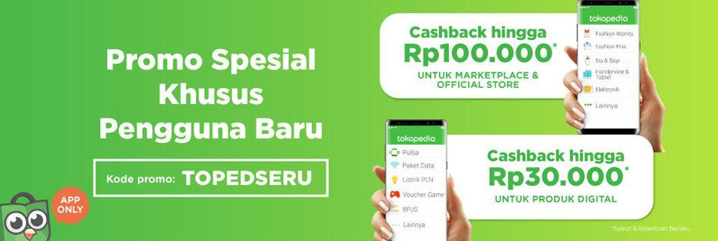 Langsung Cashback 100rb Khusus Pengguna Baru Belanja Di Tokopedia Lewat Aplikasi Gunakan Kode Topedseru Ayo Langsung Install Aplikas Aplikasi Belanja Produk