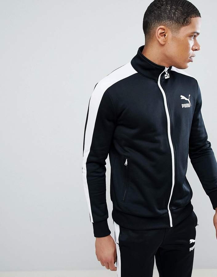 6c398132bb9c Puma Archive T7 Track Jacket In Black 57265801