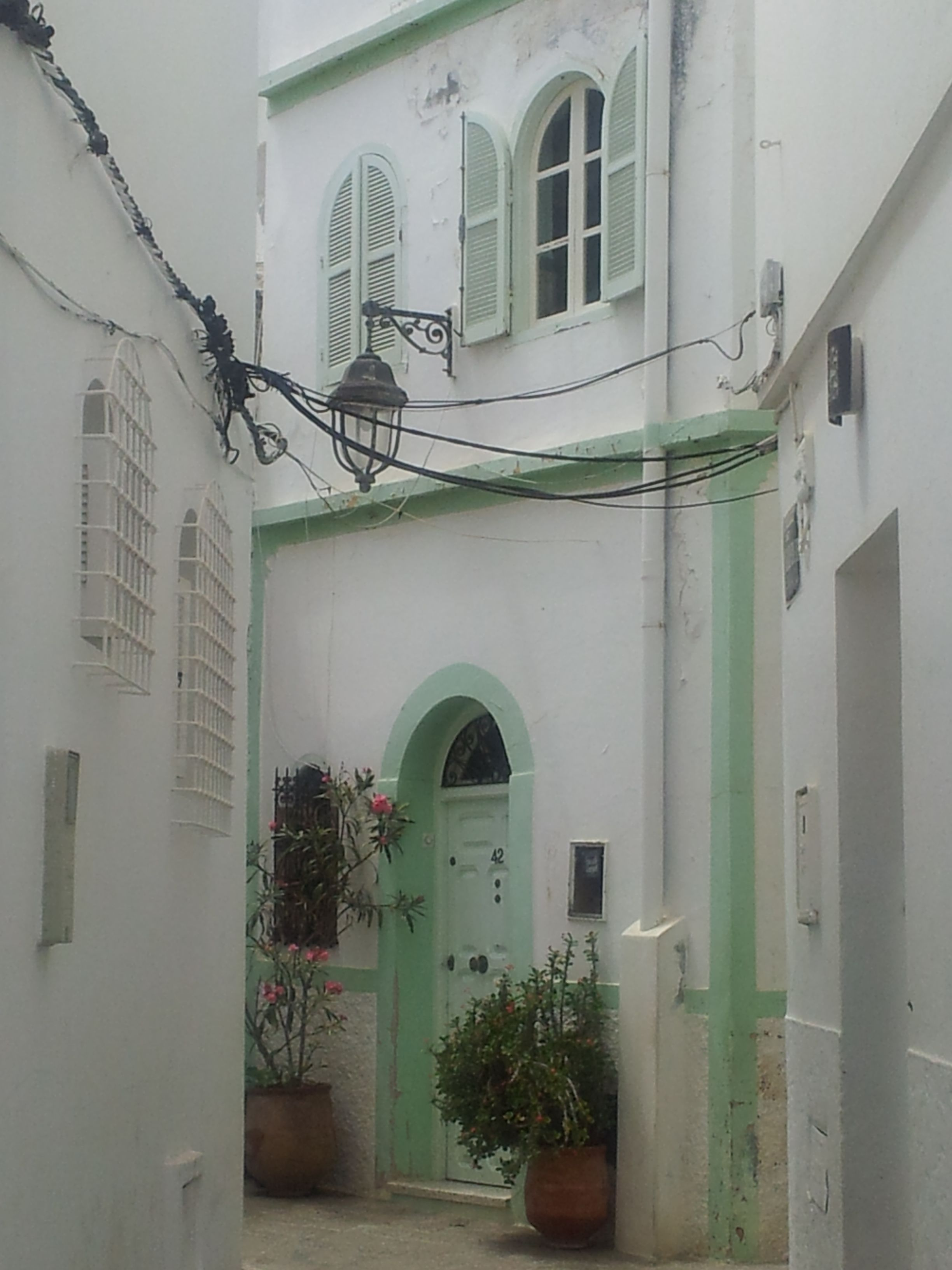 MinaMay©  schnuckelige Gasse in Assilah