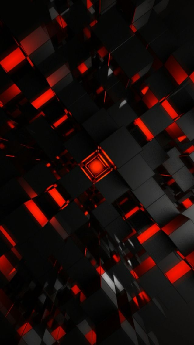 Black And Red Geometric Wallpaper 3d Wallpaper Abstract Red And Black Wallpaper Cool Wallpaper