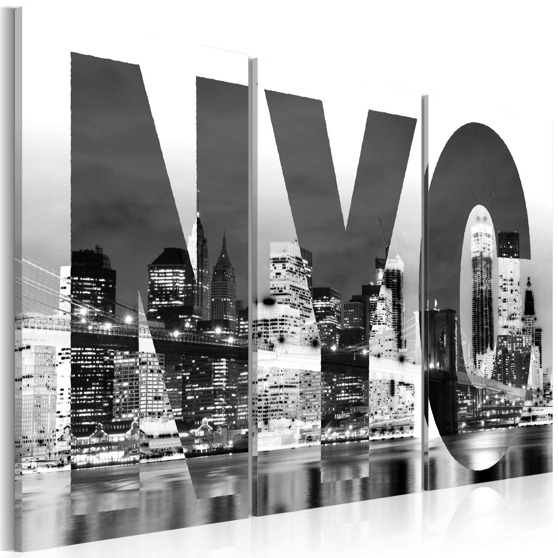 Quadro New York (bianco e nero) Bianco e nero, Senza