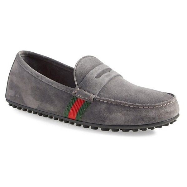 77cb73673f7 Shoes Sandals · Men s Gucci  Kanye  Driving Shoe (209675 IQD) ❤ liked on  Polyvore featuring