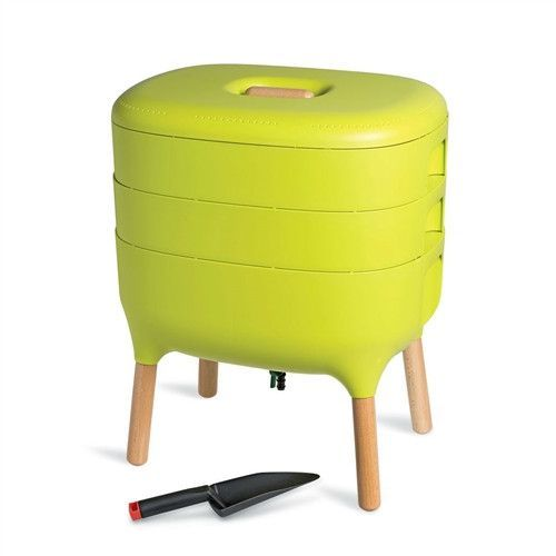 Modern Worm Farm Indoor Compost Bin Vermicomoster  Green
