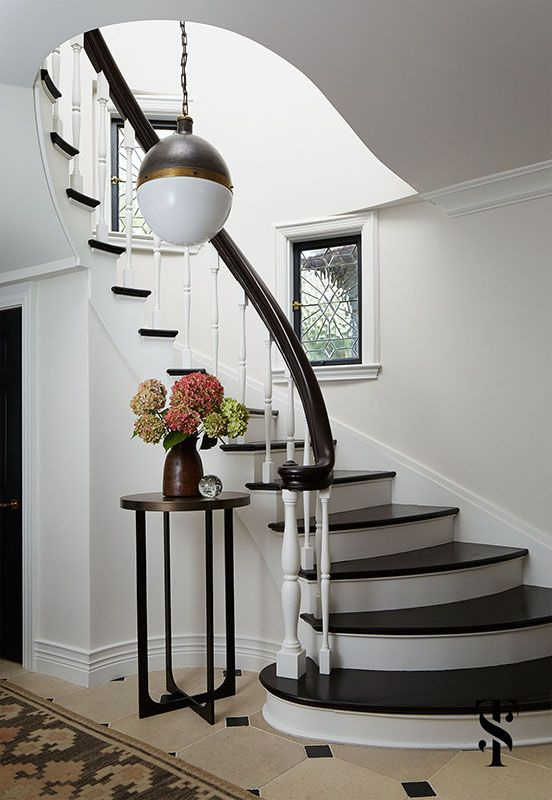 Interior design, remodel, and expansion of a classic french tudor ...