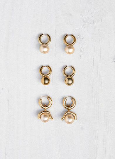 Dot Earrings FALL 17 - セリーヌについて