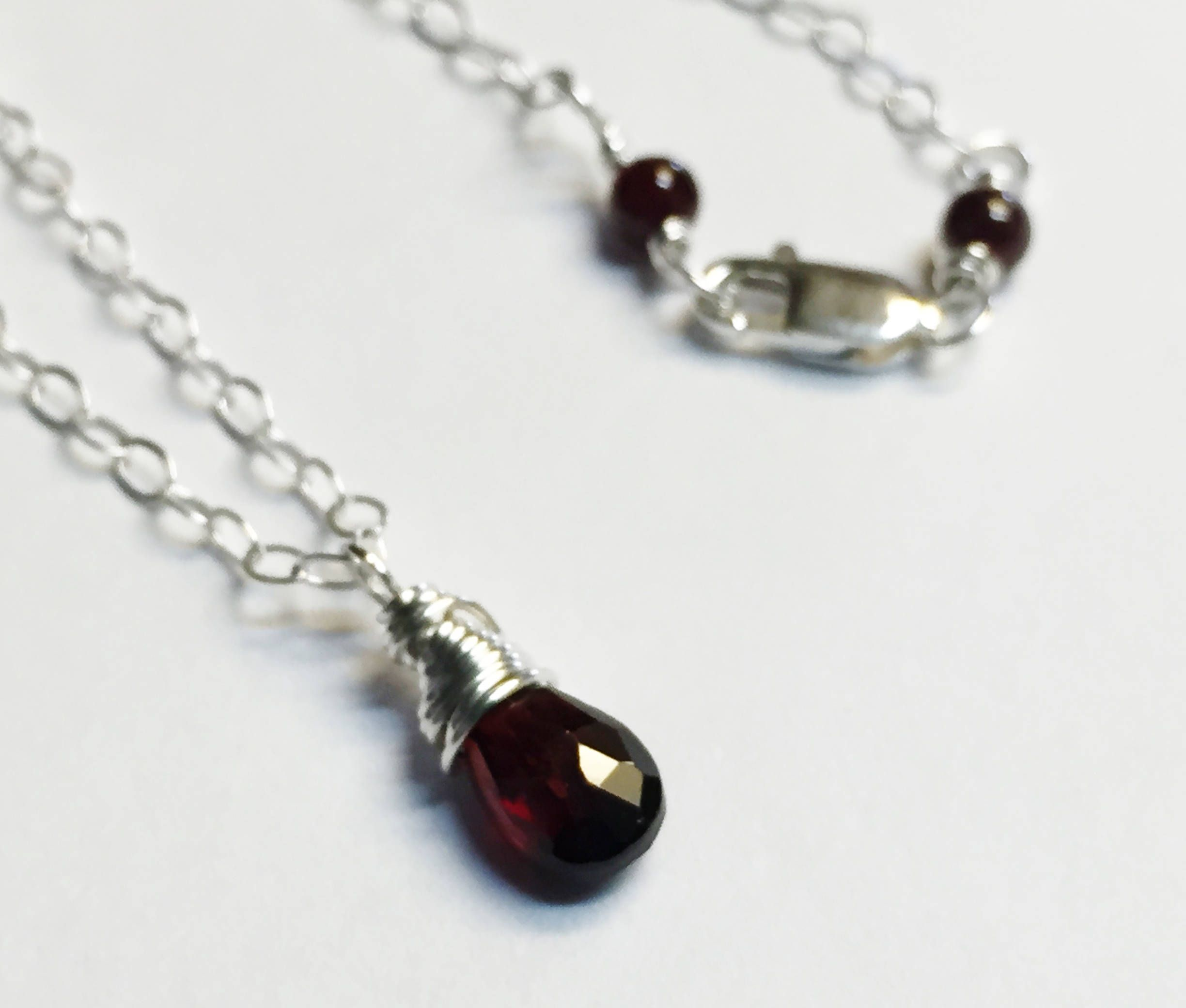 garnet borsheims jewellery earrings january jewelry birthstone