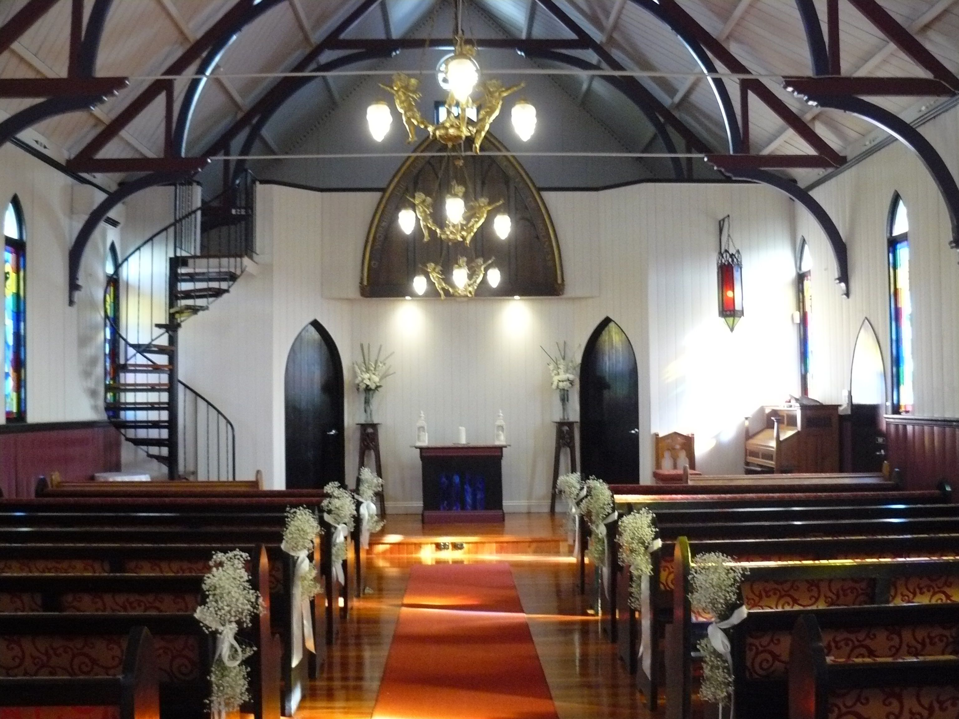 Broadway Chapel Weddings Brisbane Celebrant Neal Foster The Marriage Performs Here