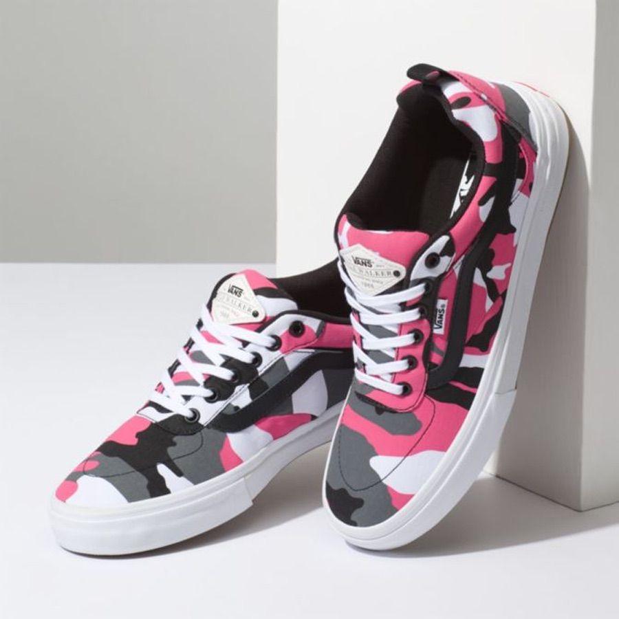 Vans Shoes | Pink Camo Kyle Walker Vans