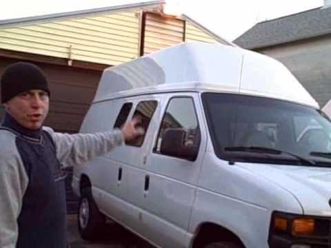 Installing A Van Hi Top By Cyclevan