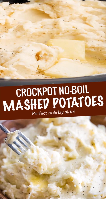 Crockpot Mashed Potatoes - NO BOIL