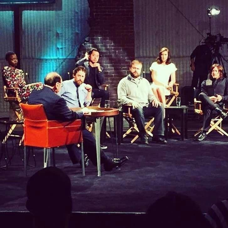 The Walking Dead cast members on Bravo Tonight - Inside The Actors Studio