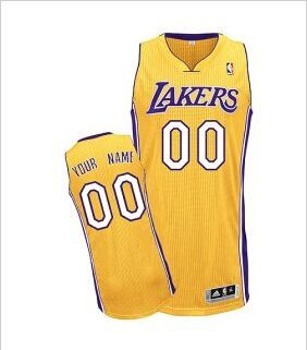 save off d475d fb26c Los Angeles Lakers Toddler Custom Letter And Number Kits For ...