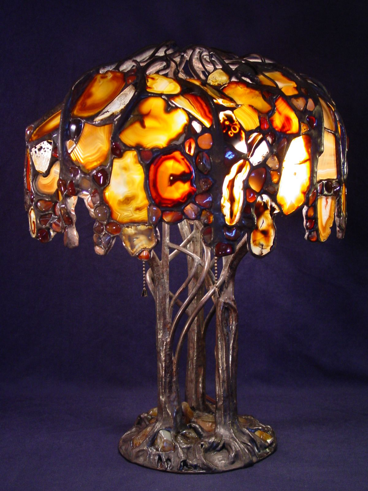 One Day Iu0027ll Have One Of Greg Rosenbergu0027s Agate Lamps.