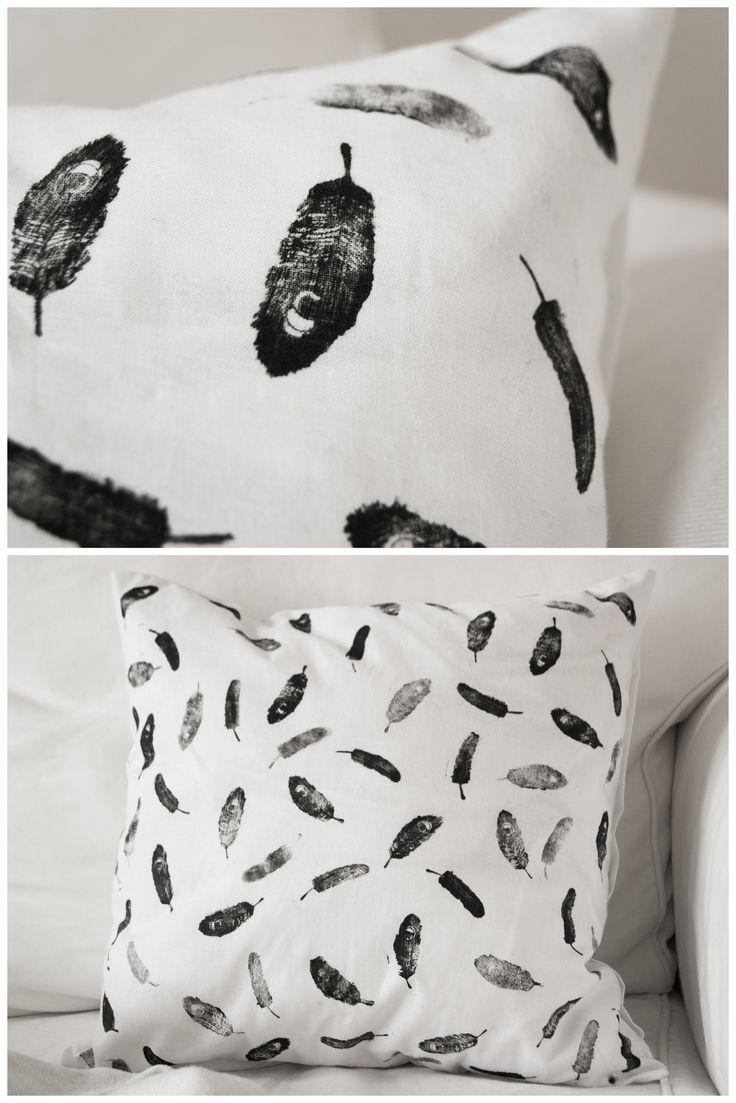 So Einfach Könnt Ihr Ein Kissen Selbst Gestalten   Pinterest   Kissen, Diy  Deko Und Diy Geschenke
