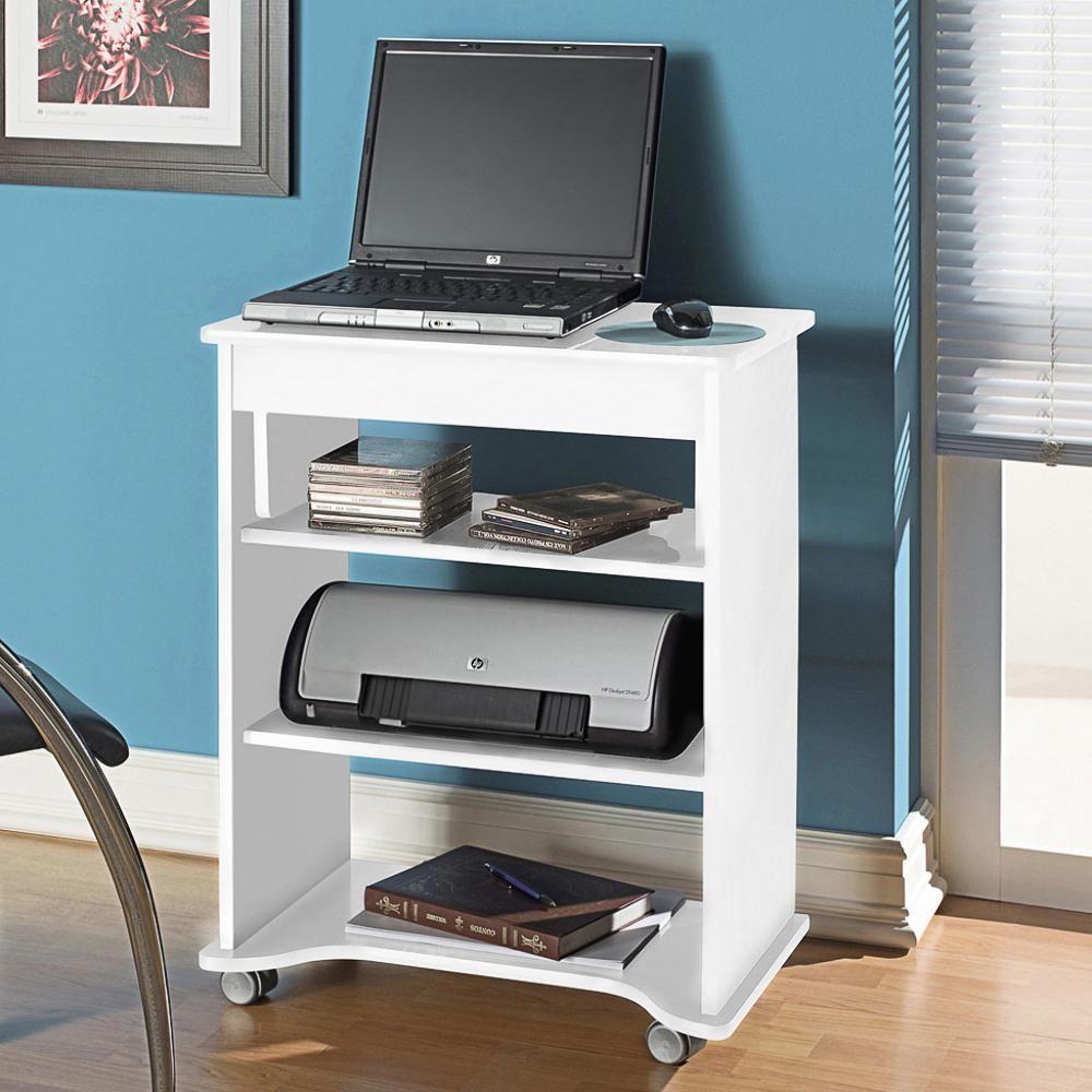 Mesa Para Computador Tampo Mesas # Muebles Para Notebook E Impresora