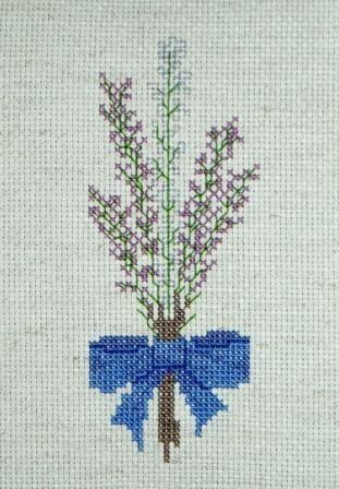 Heather Bouquet Cross Stitch Pattern Etsy Cross Stitch Bookmarks Stitch Patterns Cross Stitch