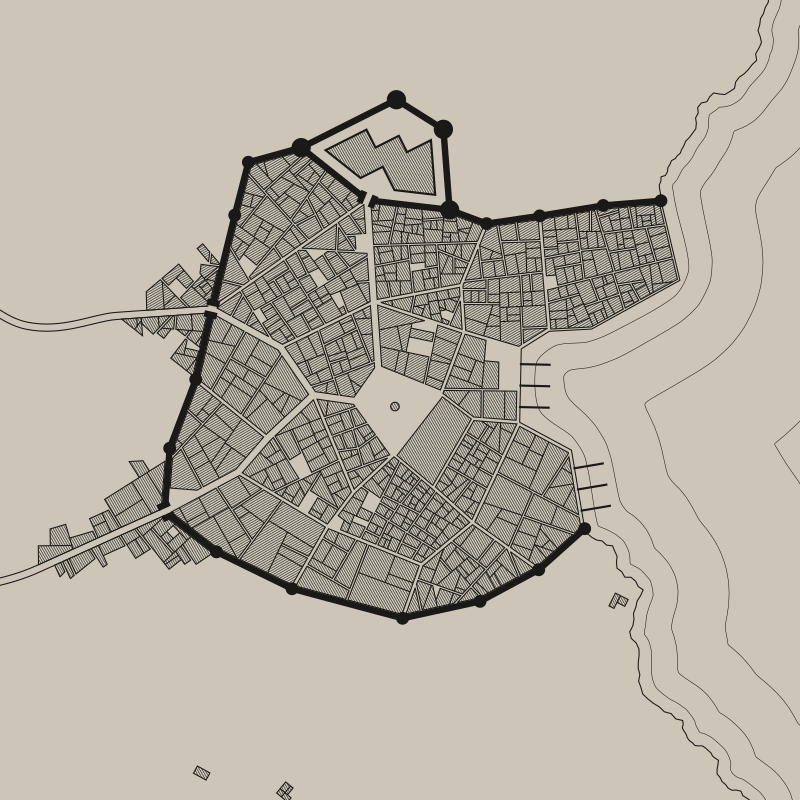 Medieval Fantasy City Generator, | Mappingesqueish | Fantasy city