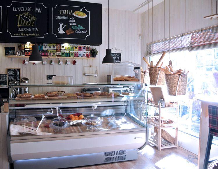 Café illy en el kiosko del pan