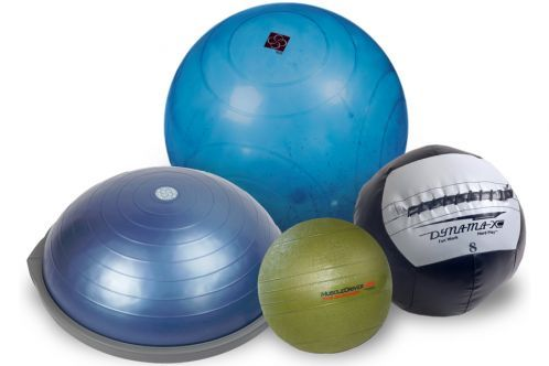 Medizinball, BOSU Ball, Slammerball