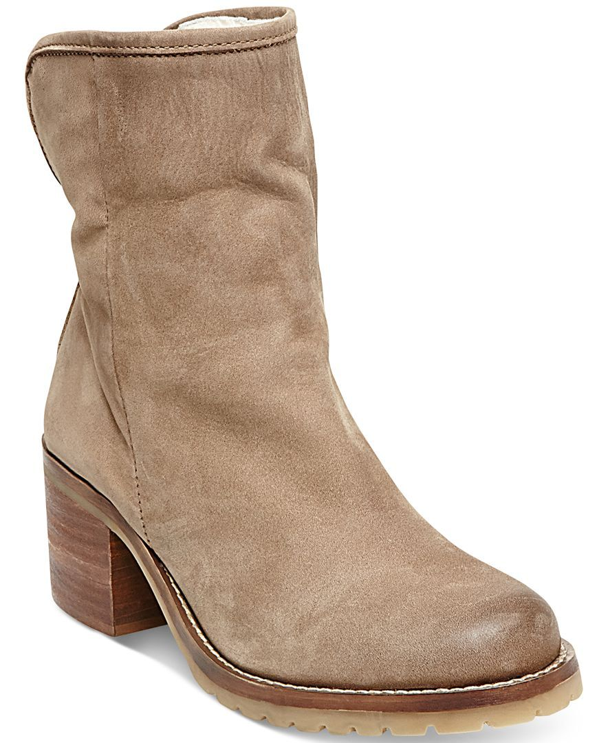 STEVEN by Steve Madden Havek Cold Weather Booties - Boots - Shoes - Macy's