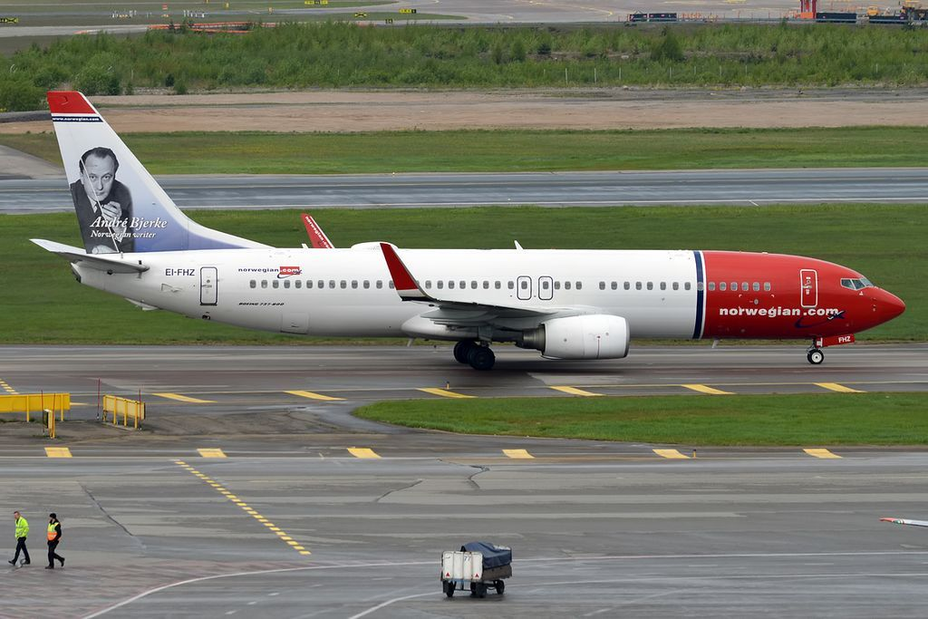 Norwegian Fleet Boeing 737 800 Details And Pictures Di 2020