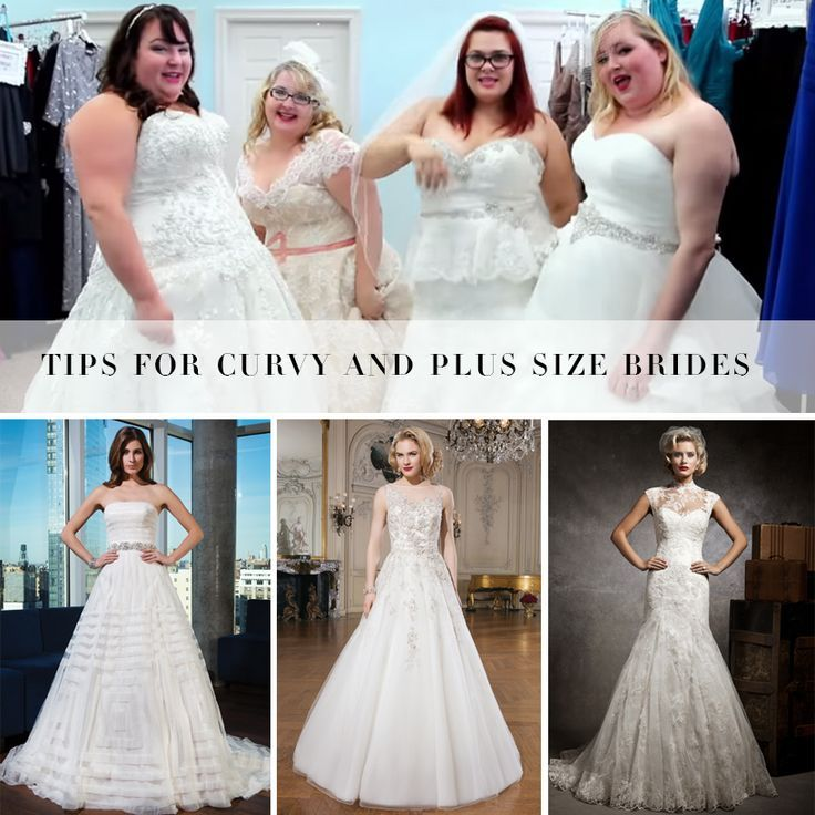 Tips For Curvy And Plus Size Brides Bombshell Bridal Put Together