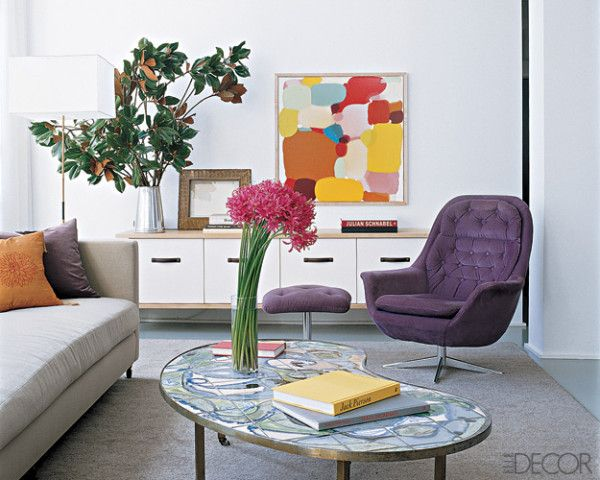 La Credenza In Hume : Low credenza with art and plants not the colors living room