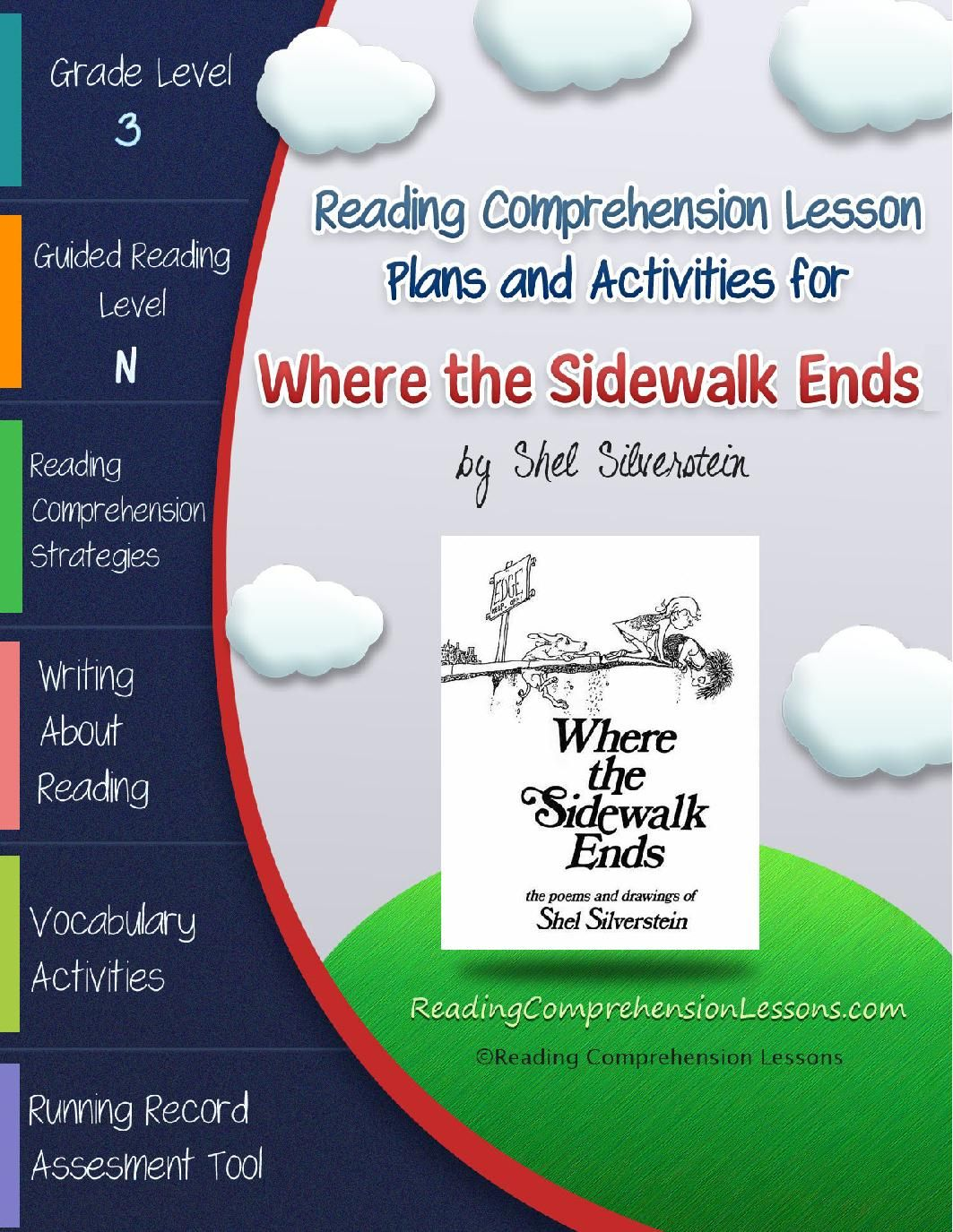Where The Sidewalk Ends Lesson Plans Amp Activities Package