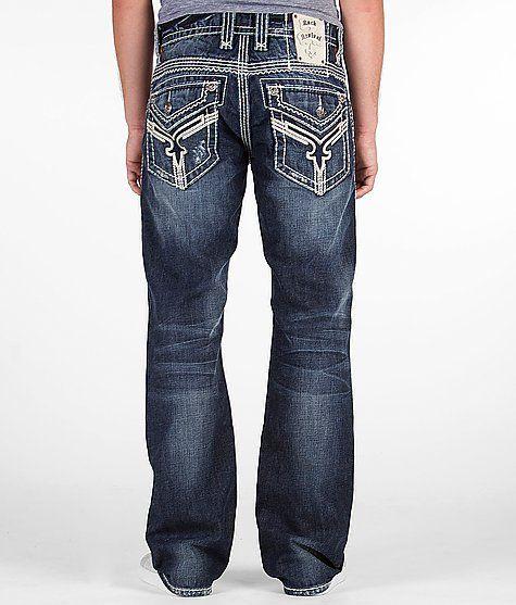 $148 Rock Revival Chuck Boot Jean