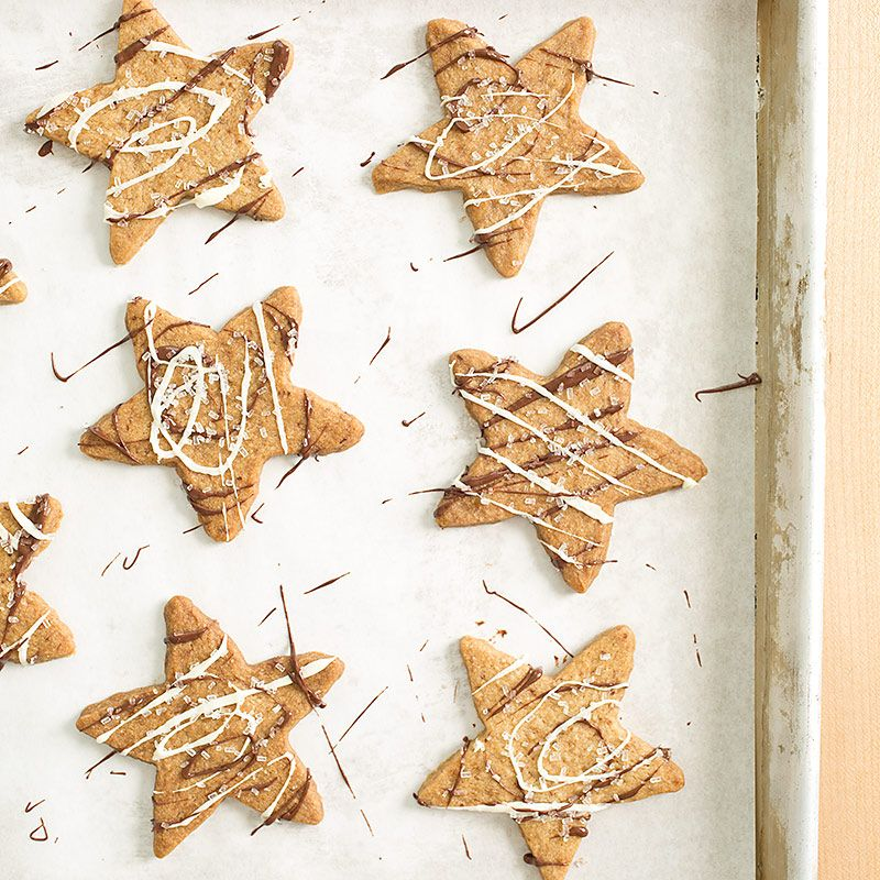 Celebrate winter with our Sparkling Coffee Snowflakes. We infuse our cookie dough with espresso powder and top our cookies with turbinado sugar, adding crunch and molasses undertones.