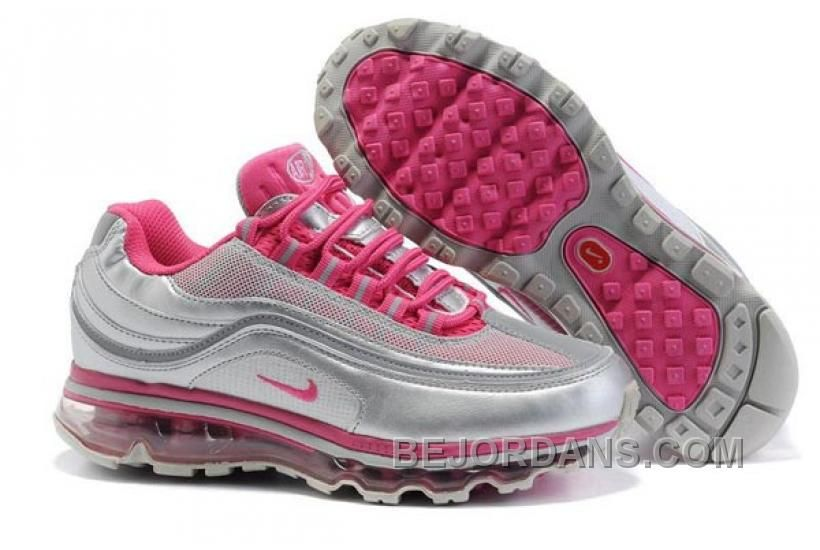 R0860 Nike Air Max 24-7 Women's Shoe White Pink Silver | Gym fashion! |  Pinterest | Air max, Tiffany and Delivery