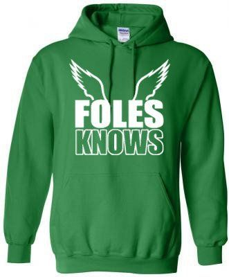 Discount Nick Foles Foles Knows Phila | NFL and Tailgating | Hoodies  for cheap