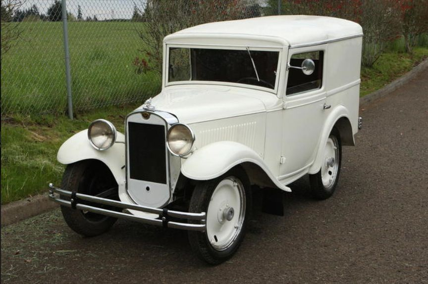1935 American Austin Panel Truck | Cars: From the beginning until ...