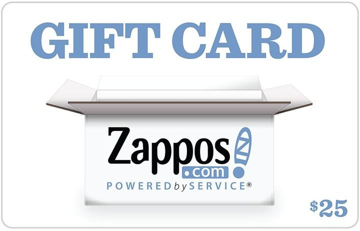 Zappos Gift Cards B2c Zappos 25 Gift Card Clothes Gift Card Popular Gift Cards Gift Card