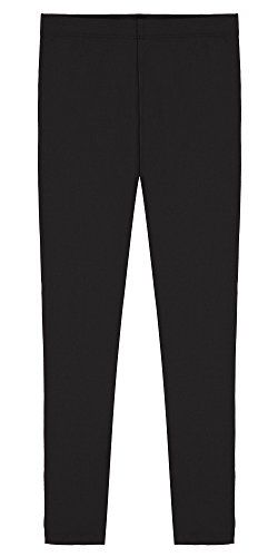 Popular Girl's Cotton Ankle Length Leggings SAVE 10% each when you purchase 2 or more, Popular is the only authorized seller of this product. Made of soft and breathable Cotton-rich blend (90%) & Spandex (10%) material that allows lots of stretch and ease. Flat and comfortable elastic waistband. Check Product Description for best fit. These full length leggings are the perfect basic bottom to match up with all your tops, sweaters and every day outfits https://boutiquecloset.c