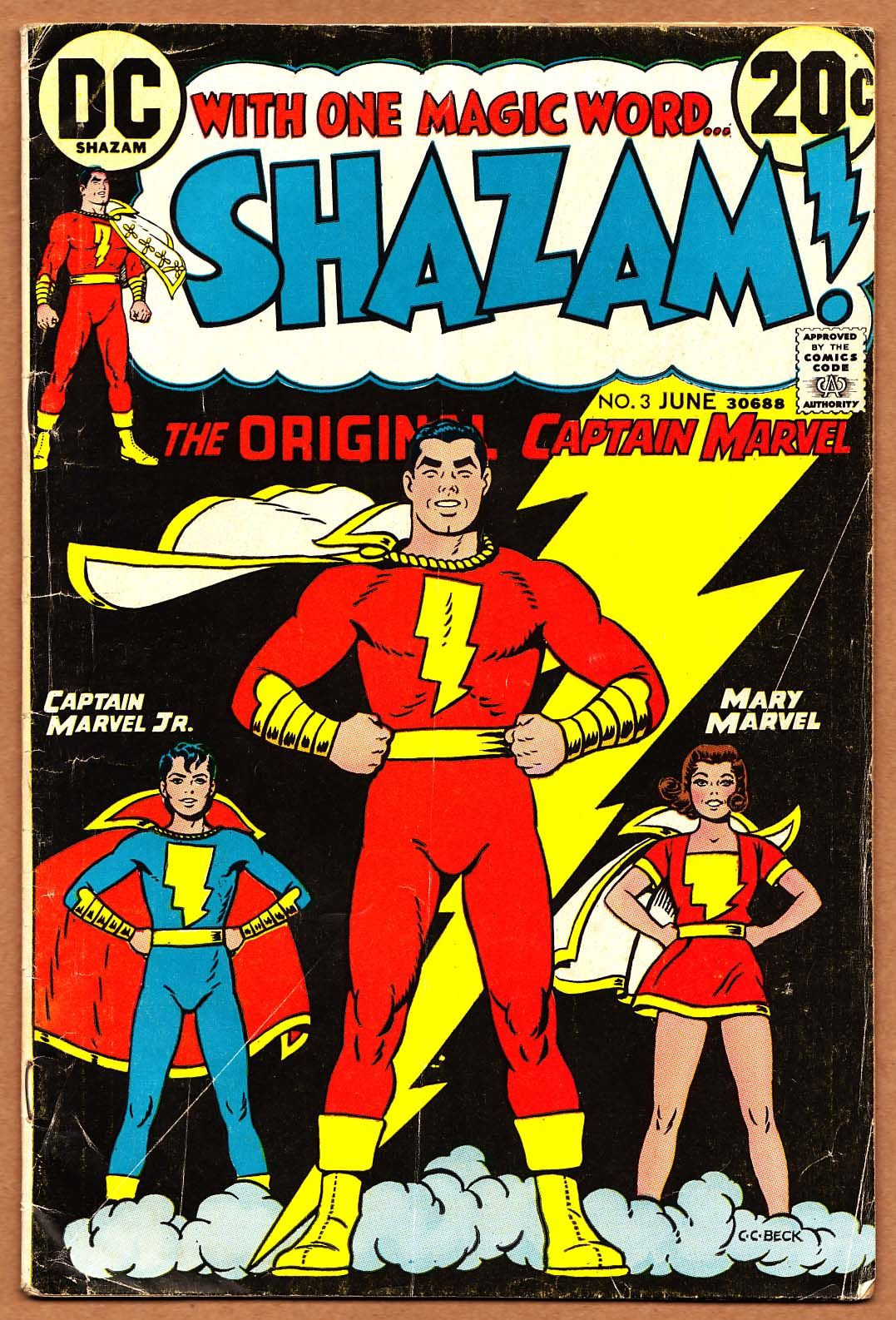 Shazam Comic, Dc Comic Books