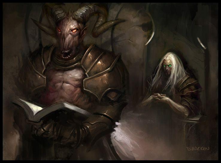 Resultado de imagen de demonic tutor art