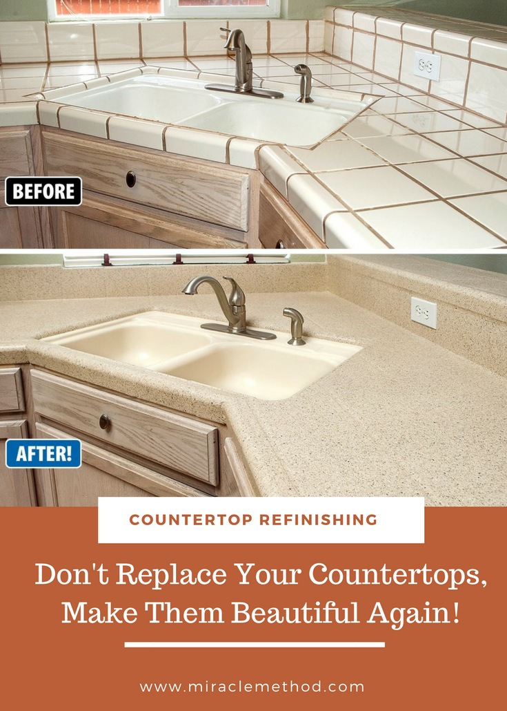 Re Purpose What You Already Have By Refinishing Your Countertops