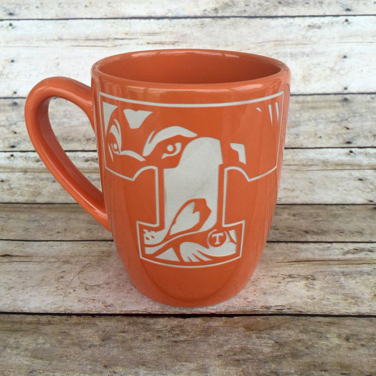 Tennessee Vols Smokey Power T ETCHED Etched by SouthernGritDesign