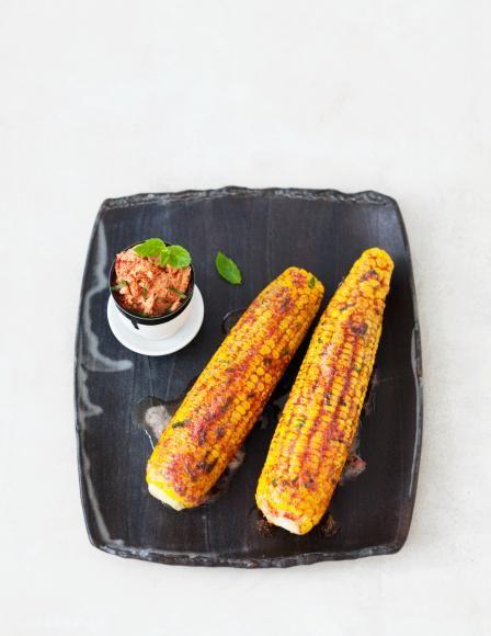 tandoori mais rezept rezepte f r jeden tag pinterest vegetarisch grillen vegetarisch. Black Bedroom Furniture Sets. Home Design Ideas