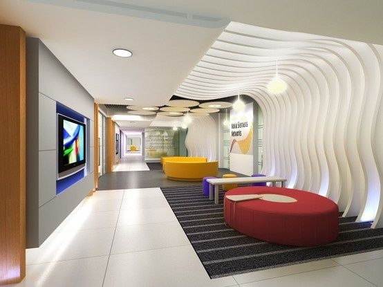 Contemporary corporate lounge design buscar con google for Office area design