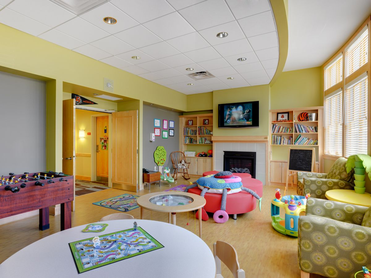 One Of Our Many Family Rooms Where Guest Families Can Relax