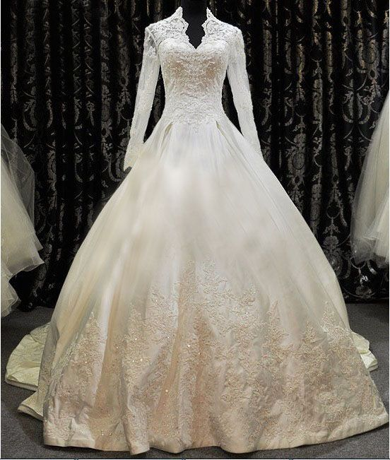 Lace princess wedding dresses tumblr