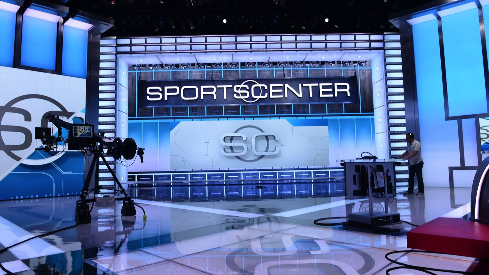 Inside the studio where ESPN is betting billions on the