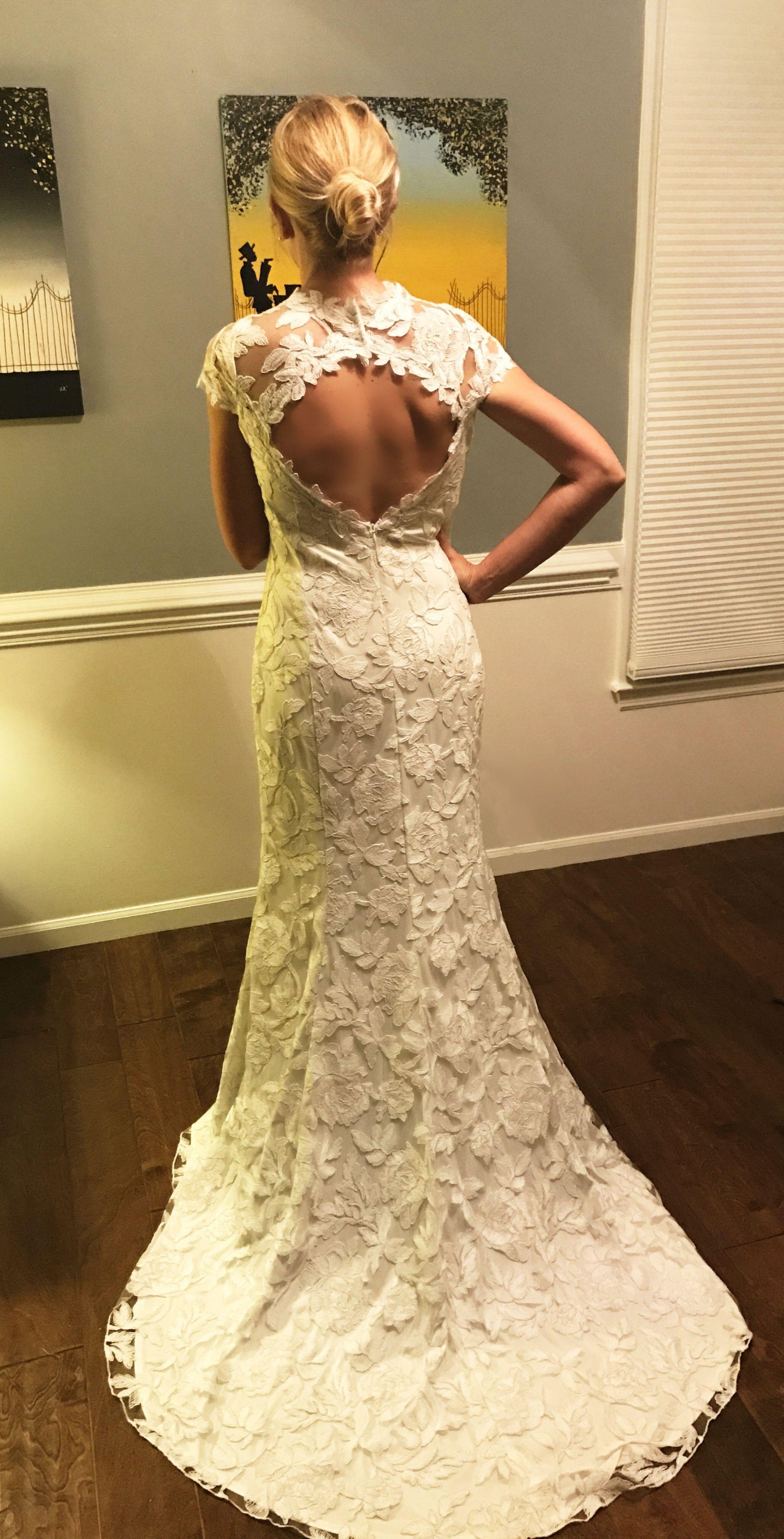 Bhldn tadashi shoji elinor wedding dress new size 12