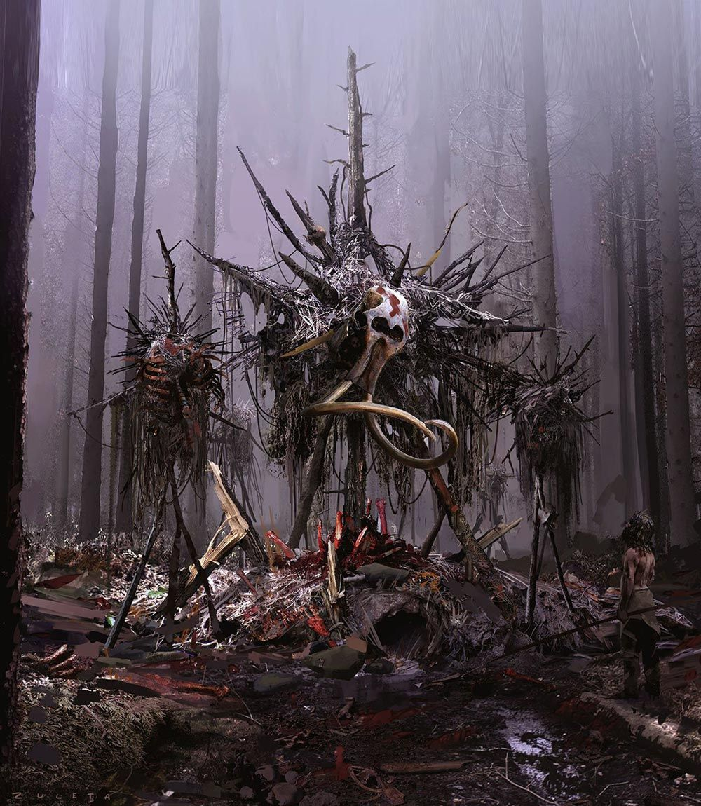 Scarecrows Characters & Art Far Cry Primal Far cry