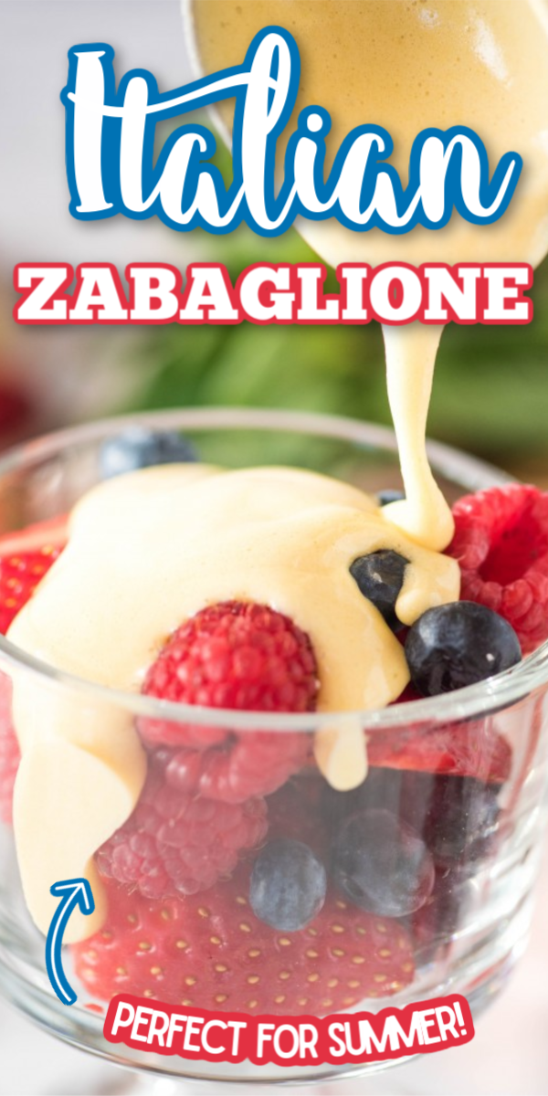 Photo of Authentic Italian Zabaglione Recipe with Fresh Berries