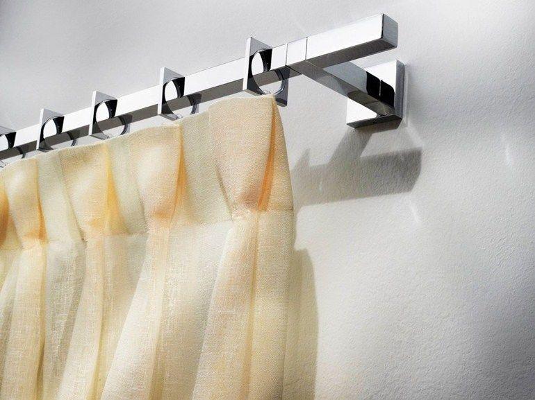Tringle rideau en laiton de style contemporain elara by for Les tringles pour rideaux