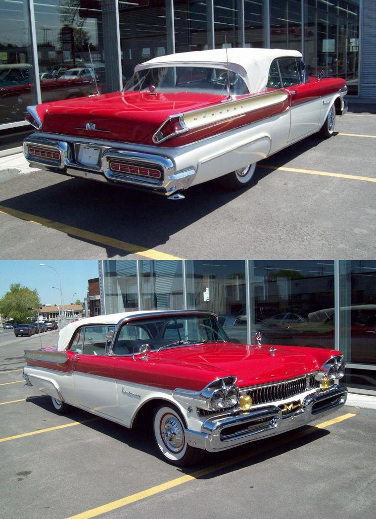 1957 Ford Mercury Turnpike Cruiser 2-Dr Convertable