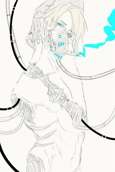 US Cyborg~Hetalia!   <3 Anime & Manga 3 <3   Pinterest
